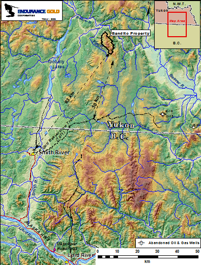 Detailed Location Map